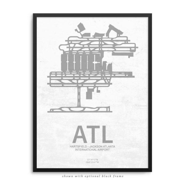 ATL Airport Poster
