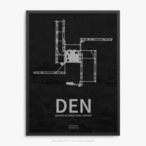 DEN Airport Poster