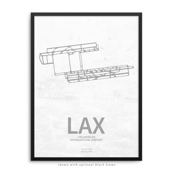LAX Airport Poster