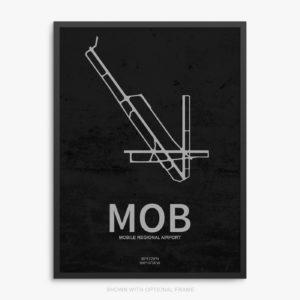 MOB Airport Poster