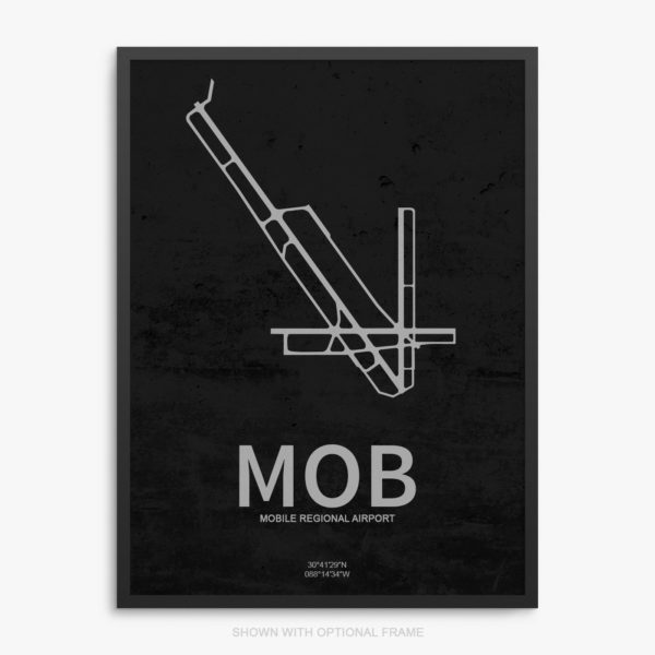 MOB Airport Poster
