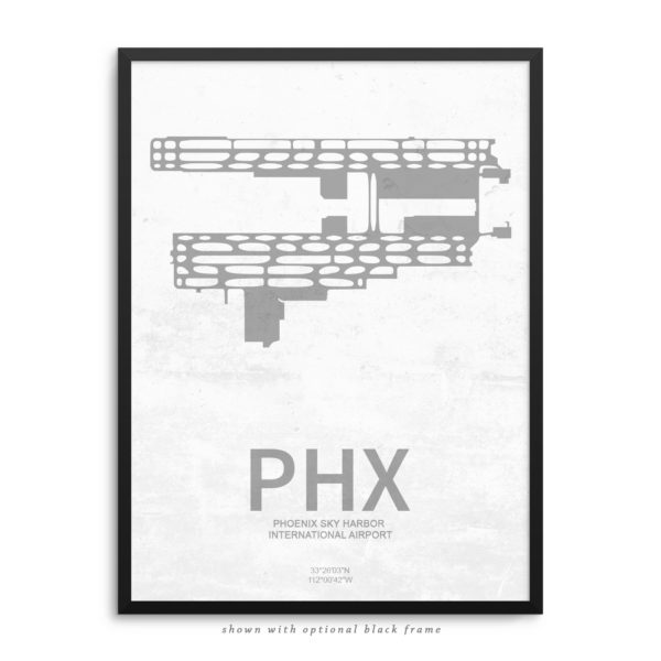 PHX Airport Poster