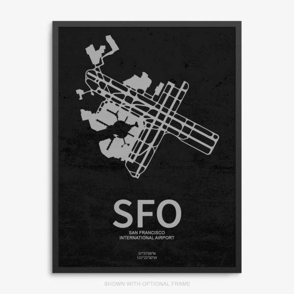 SFO Airport Poster