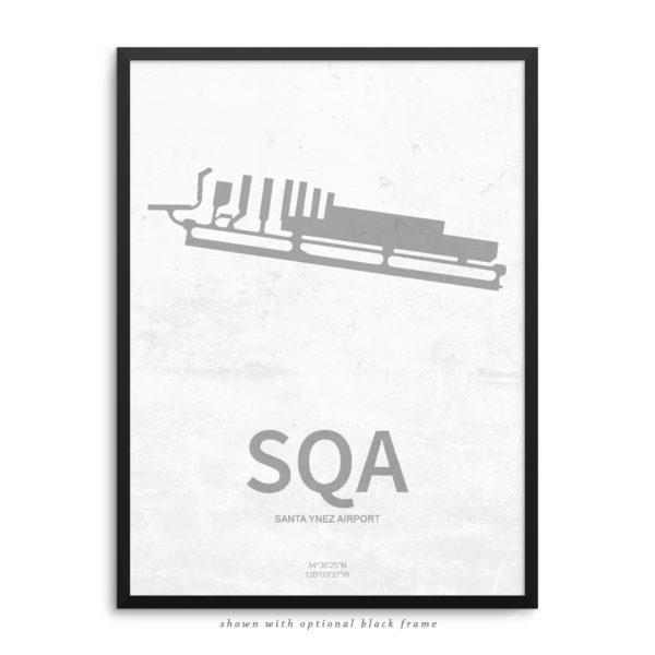 SQA Airport Poster Detail