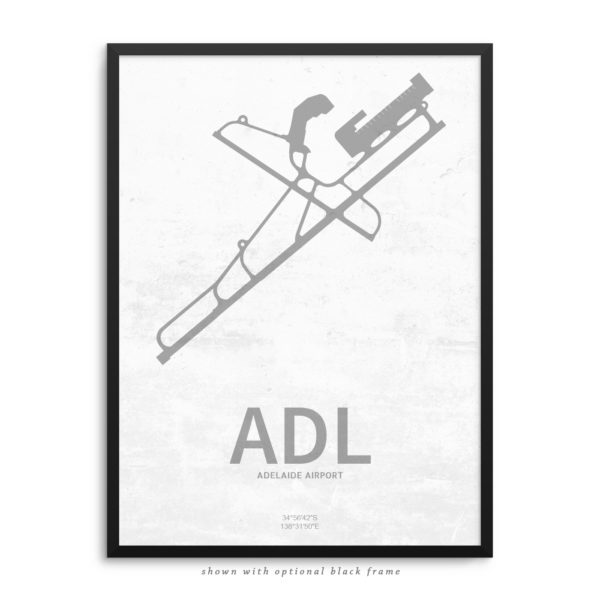 ADL Airport Poster