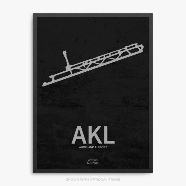 AKL Airport Poster