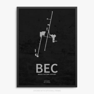 BEC Airport Poster
