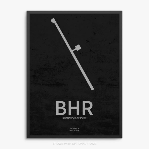 BHR Airport Poster