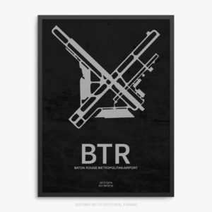 BTR Airport Poster
