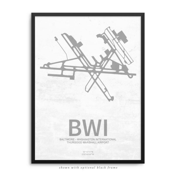 BWI Airport Poster