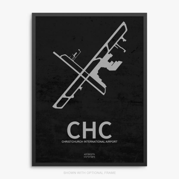 CHC Airport Poster