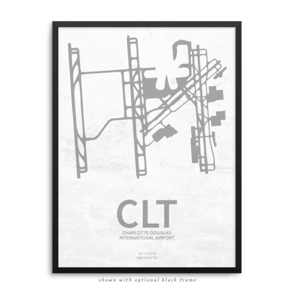 CLT Airport Poster
