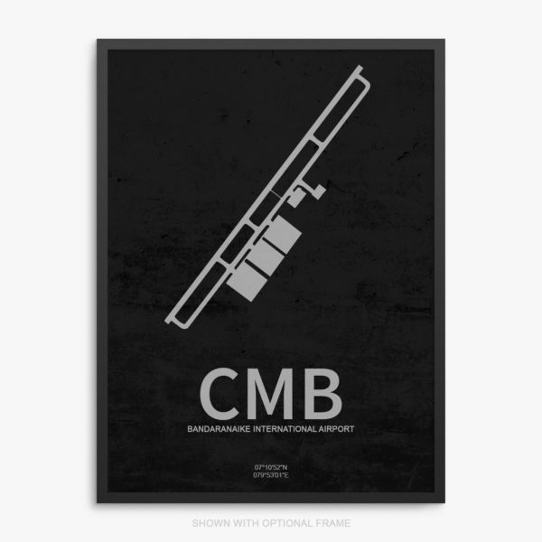 CMB Airport Poster