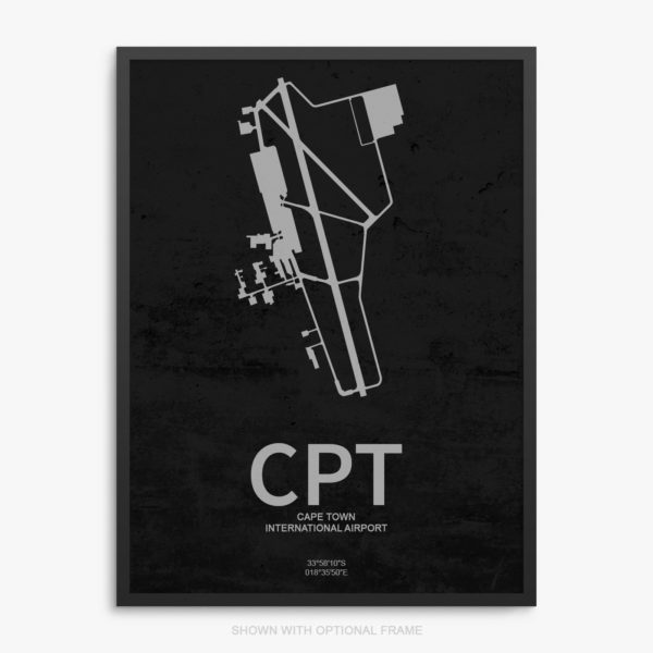 CPT Airport Poster