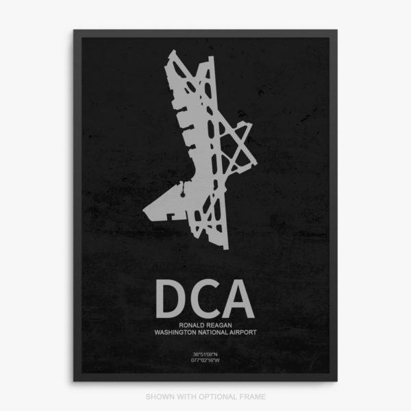 DCA Airport Poster