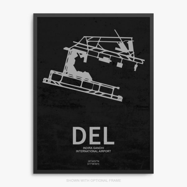 DEL Airport Poster