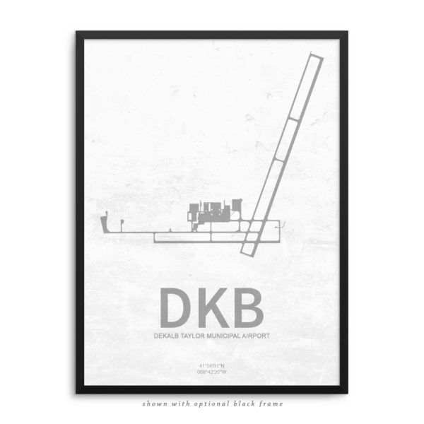 DKB Airport Poster