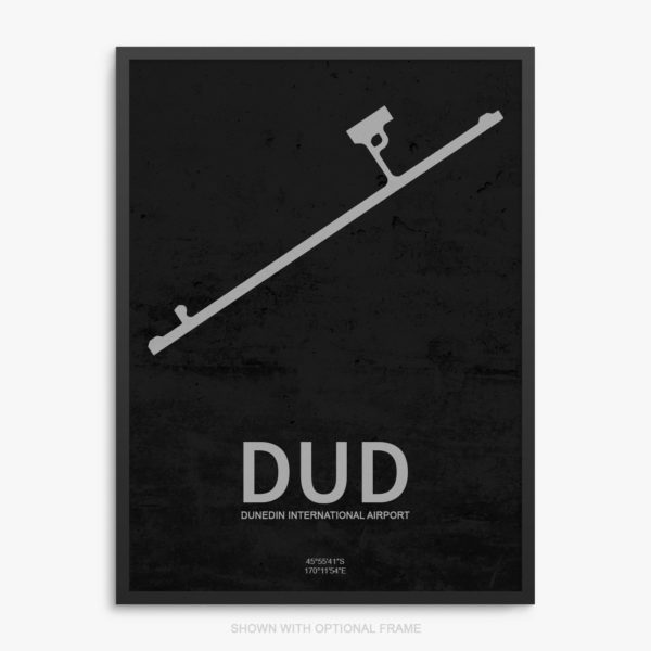 DUD Airport Poster