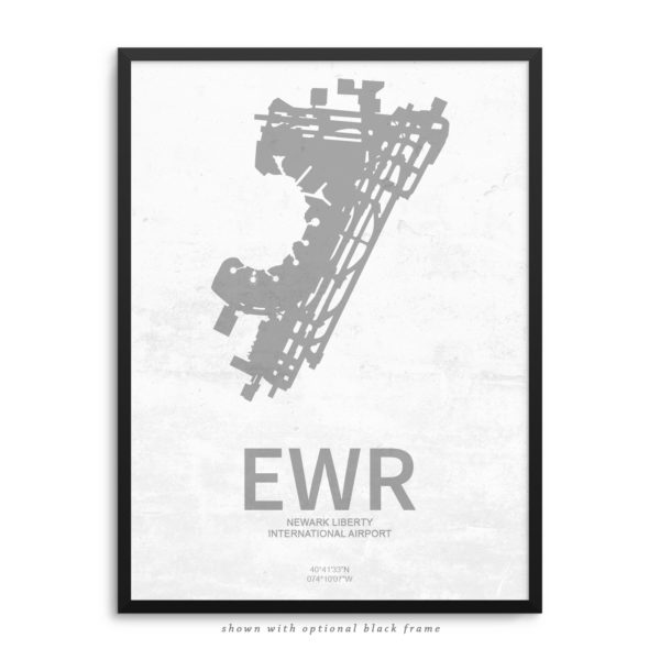 EWR Airport Poster