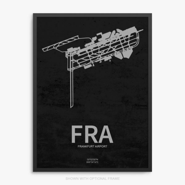 FRA Airport Poster