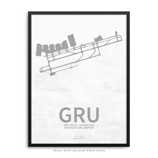 GRU Airport Poster