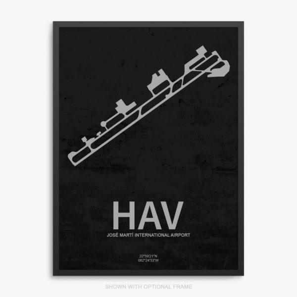 HAV Airport Poster