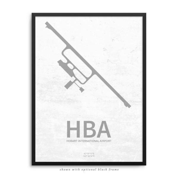 HBA Airport Poster