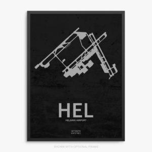 HEL Airport Poster