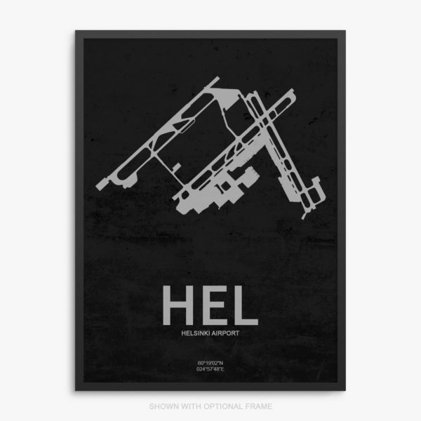 HEL Airport Poster