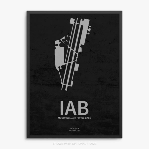IAB Airport Poster