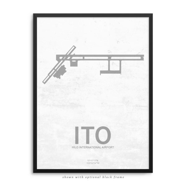 ITO Airport Poster