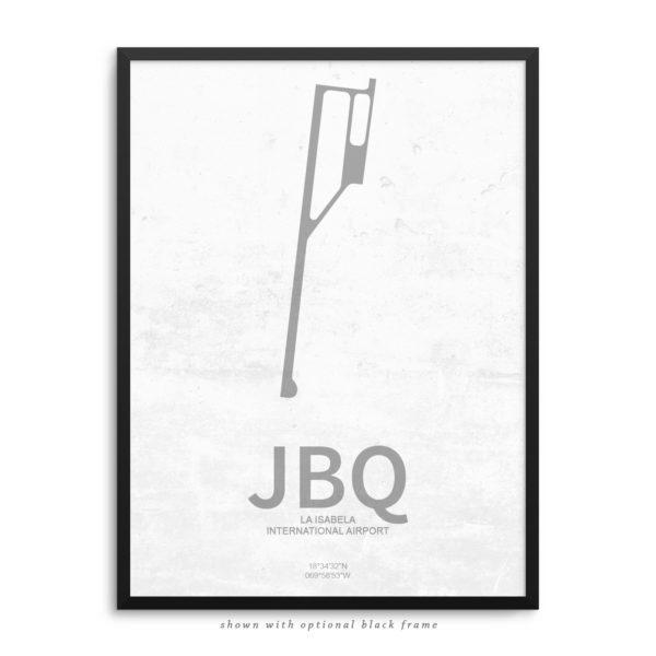 JBQ Airport Poster