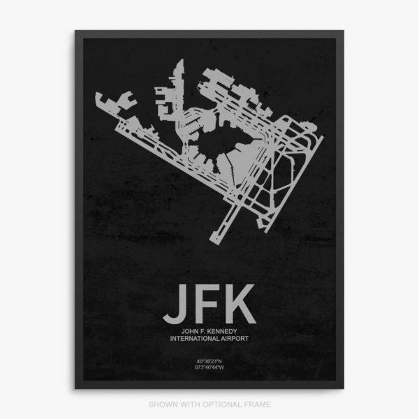 JFK Airport Poster