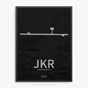JKR Airport Poster