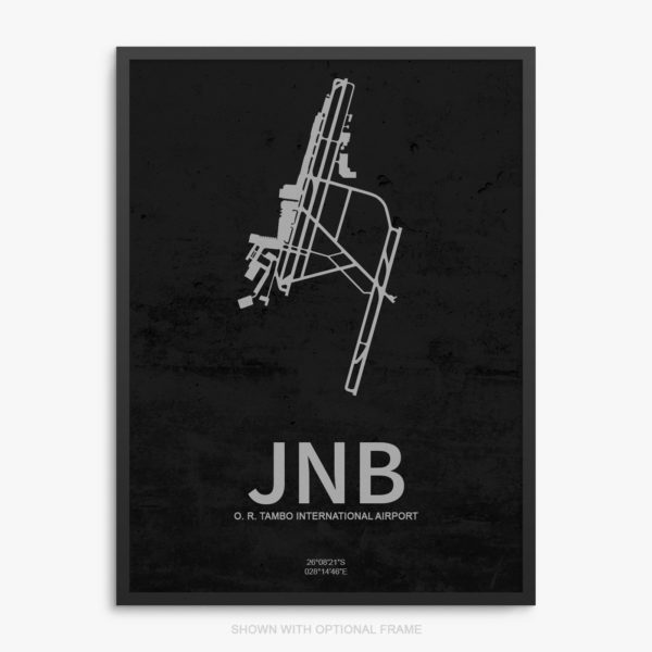 JNB Airport Poster