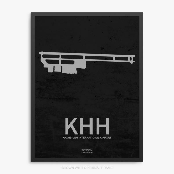 KHH Airport Poster