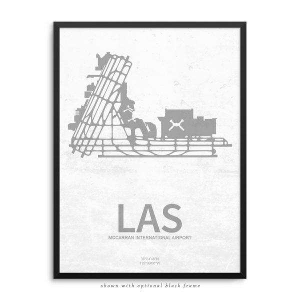 LAS Airport Poster
