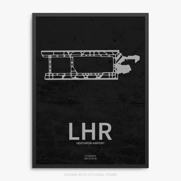 LHR Airport Poster