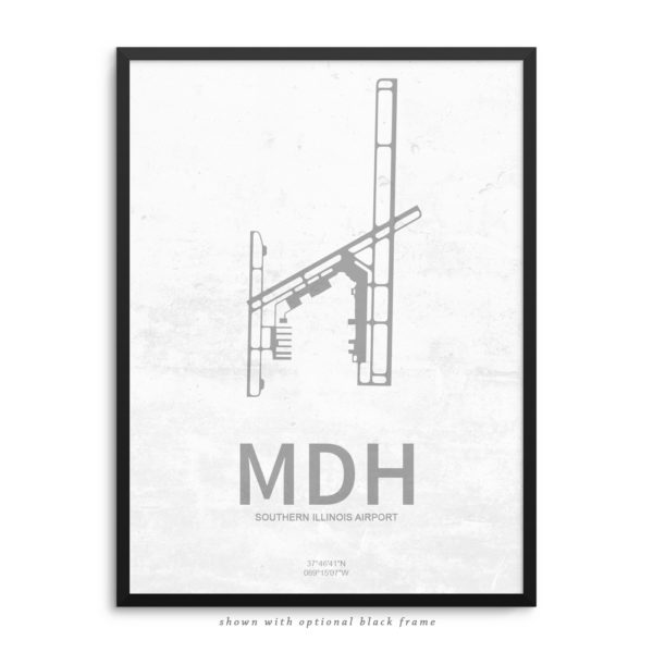 MDH Airport Poster