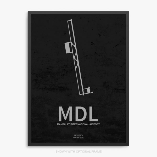 MDL Airport Poster
