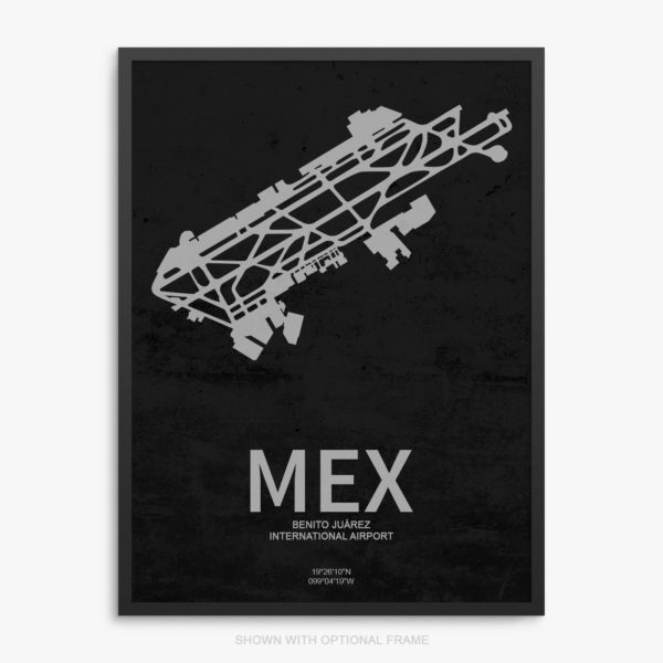 MEX Airport Poster