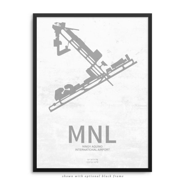 MNL Airport Poster