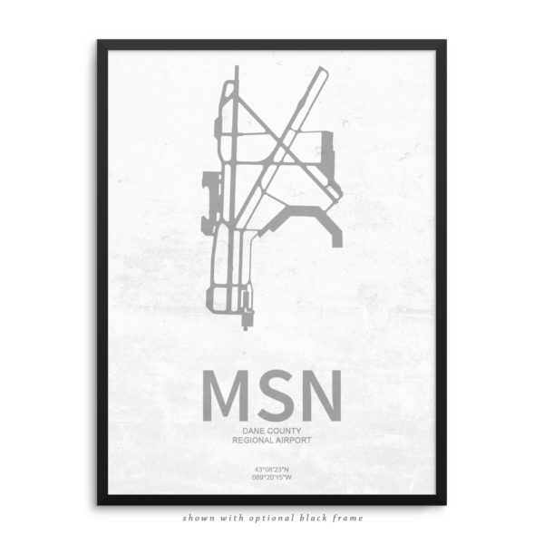 MSN Airport Poster