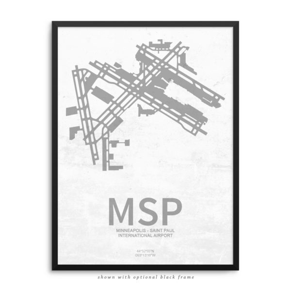 MSP Airport Poster