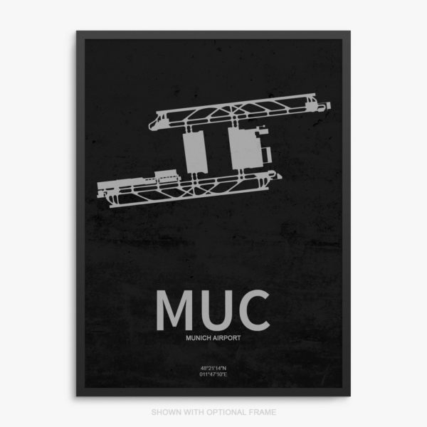 MUC Airport Poster