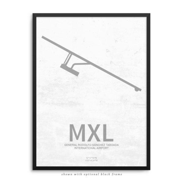 MXL Airport Poster