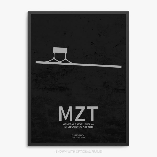 MZT Airport Poster