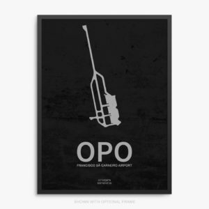 OPO Airport Poster