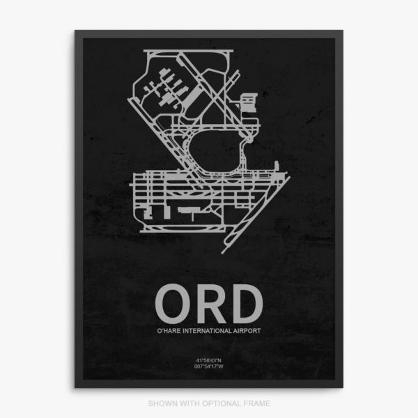 ORD Airport Poster