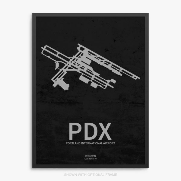 PDX Airport Poster